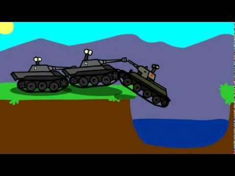 видео: мультик про танки