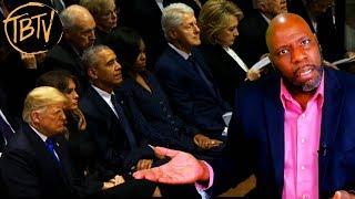 Trump vs Clinton vs Obama at the George H. W. Bush Funeral