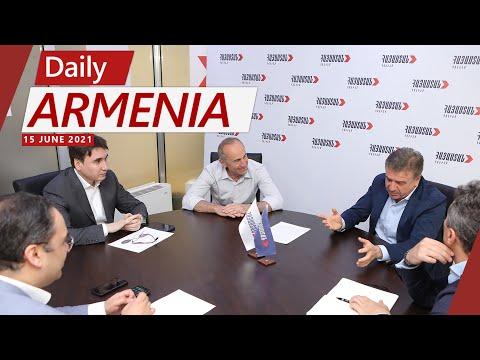 Armenia's Former Prime Minister Karen Karapetyan Endorses Kocharyan