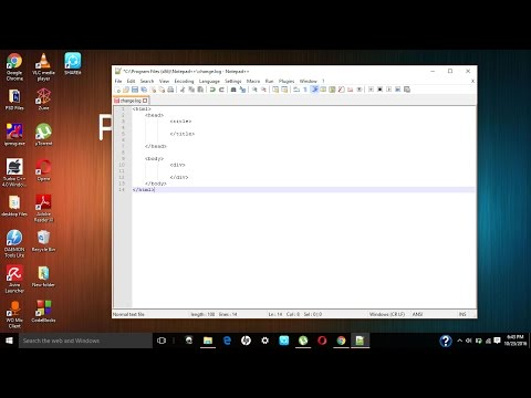 HOW TO DOWNLOAD AND INSTALL NOTEPAD++(FREE)