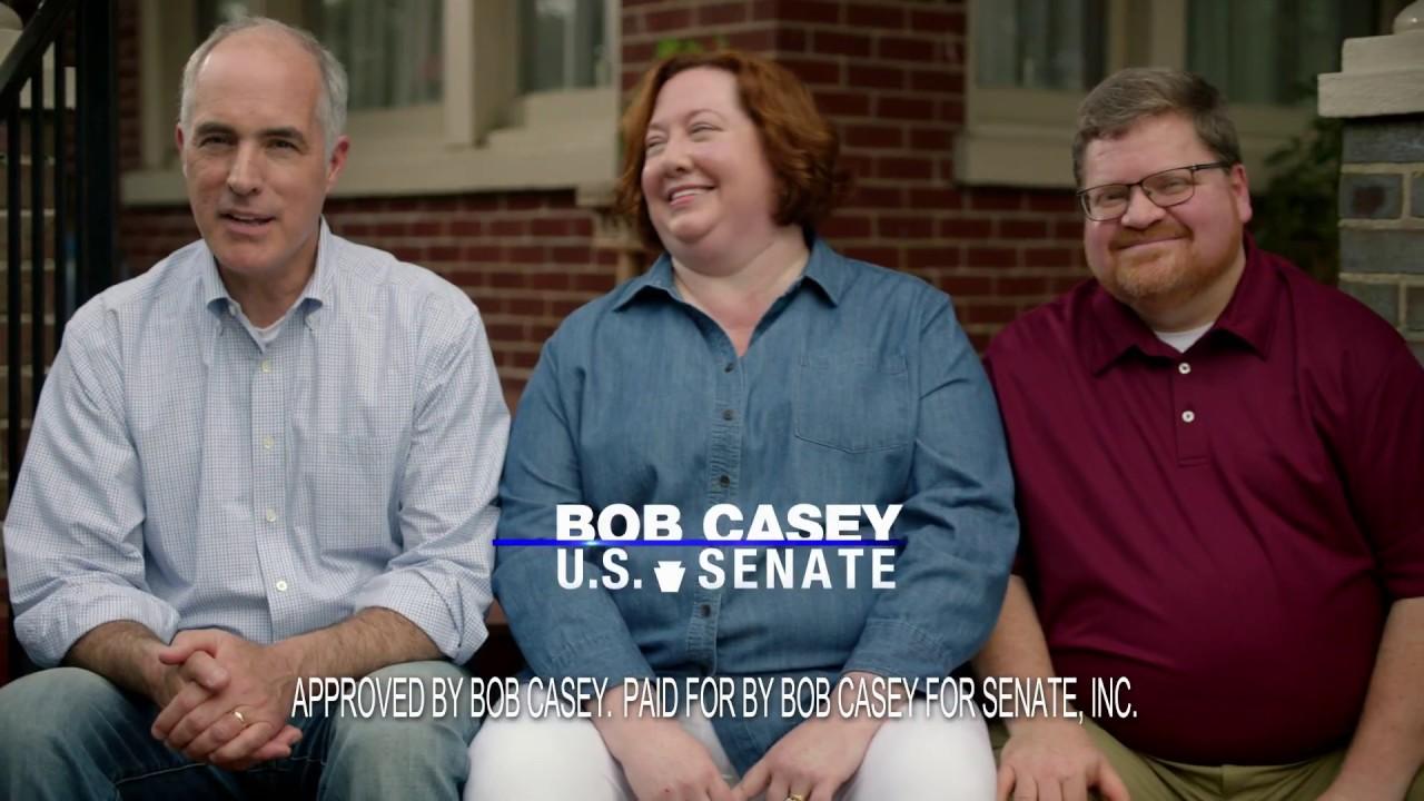 Casey ad aims at moderates