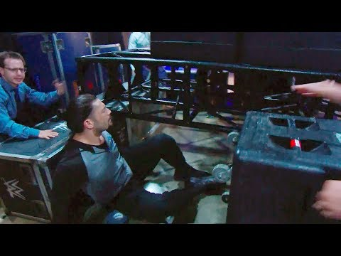 Eyewitness accounts of Reigns forklift incident: WWE Exclusive, Aug. 6, 2019