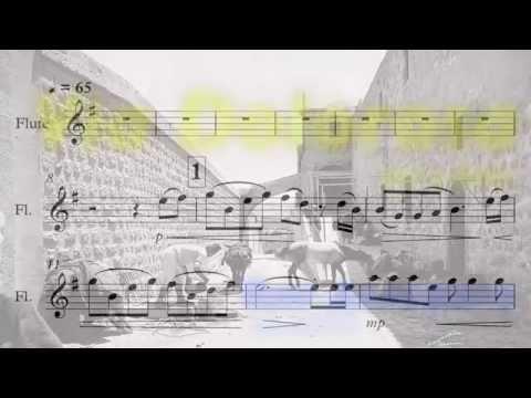 Via Dolorosa  (flute sheet music) Виа Долороса (ноты для флейты)