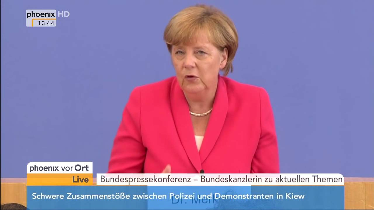 Flüchtlingspolitik Wir Schaffen Das Statement Von Angela Merkel Am 31082015