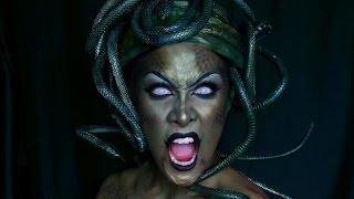 MEDUSA Makeup + Headpiece Tutorial: Halloween