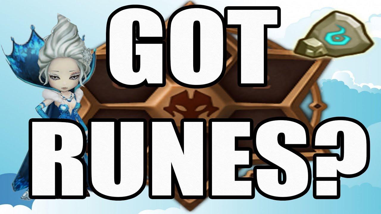 how to get tier 1 runes