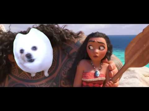 Moana - You're Welcome but it's performed by the Gabe the Dog