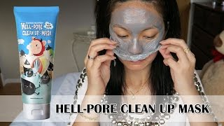 Peeling Mask | Elizavecca Hell-Pore Clean Up Mask First Impression and Review