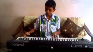 jaane jaan dhoondta phir raha Jawani Diwani hindi song RD  Burman Instrumental Keyboard