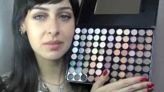 Blush Professional 88 Colour Earth Tones Eyeshadow Palette Review Thumbnail