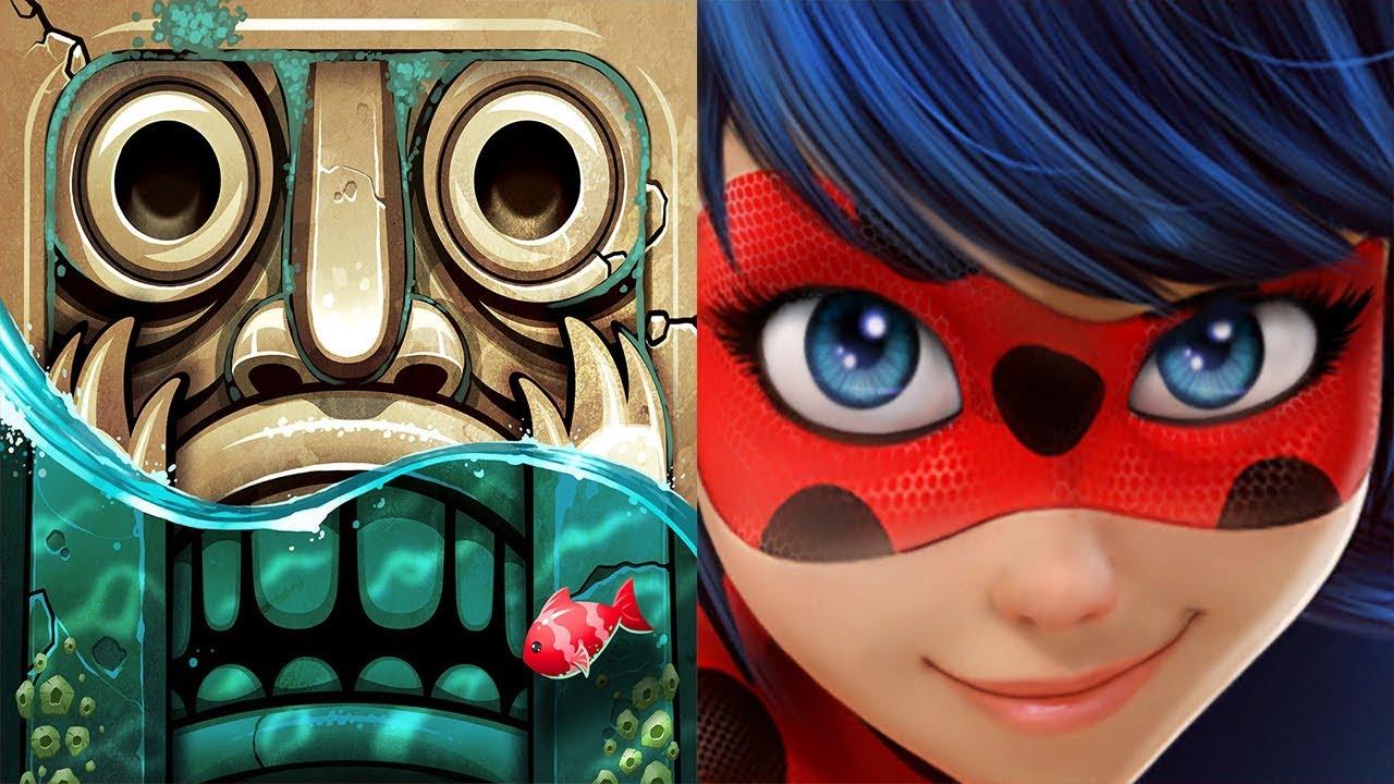 Download Temple Run 2 Pirate Cove VS Miraculous Ladybug & Cat Noir