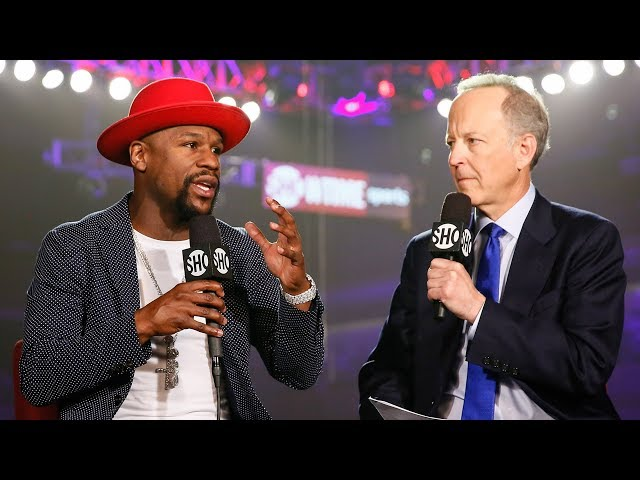 Floyd Mayweather Talks Potential MMA Fight | SHOWTIME CHAMPIONSHIP BOXING