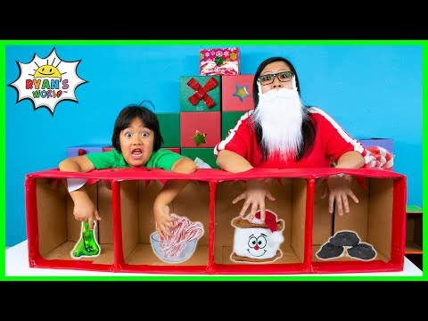 What's in the Box Challenge Christmas Edition!!!