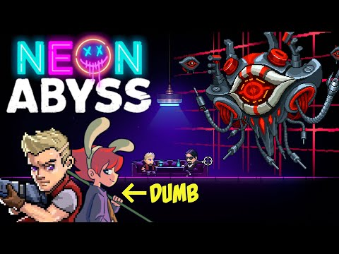 When Stupid Decisions make you lose the game in Neon Abyss |