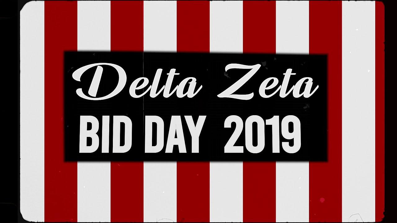 FSU Delta Zeta Bid Day 2019
