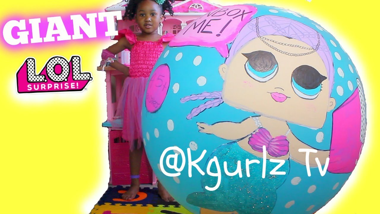 Download Giant LOL DOll New Wave KGurlz Tv Toy Fairy