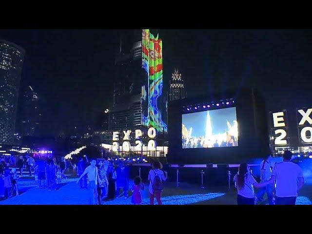 Watch: Dubai ExpoLight show