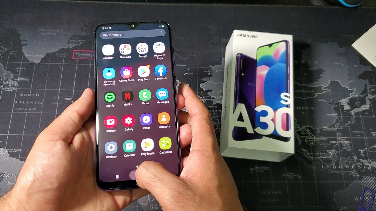 Samsung Galaxy A30s Special Edition unboxing and overview