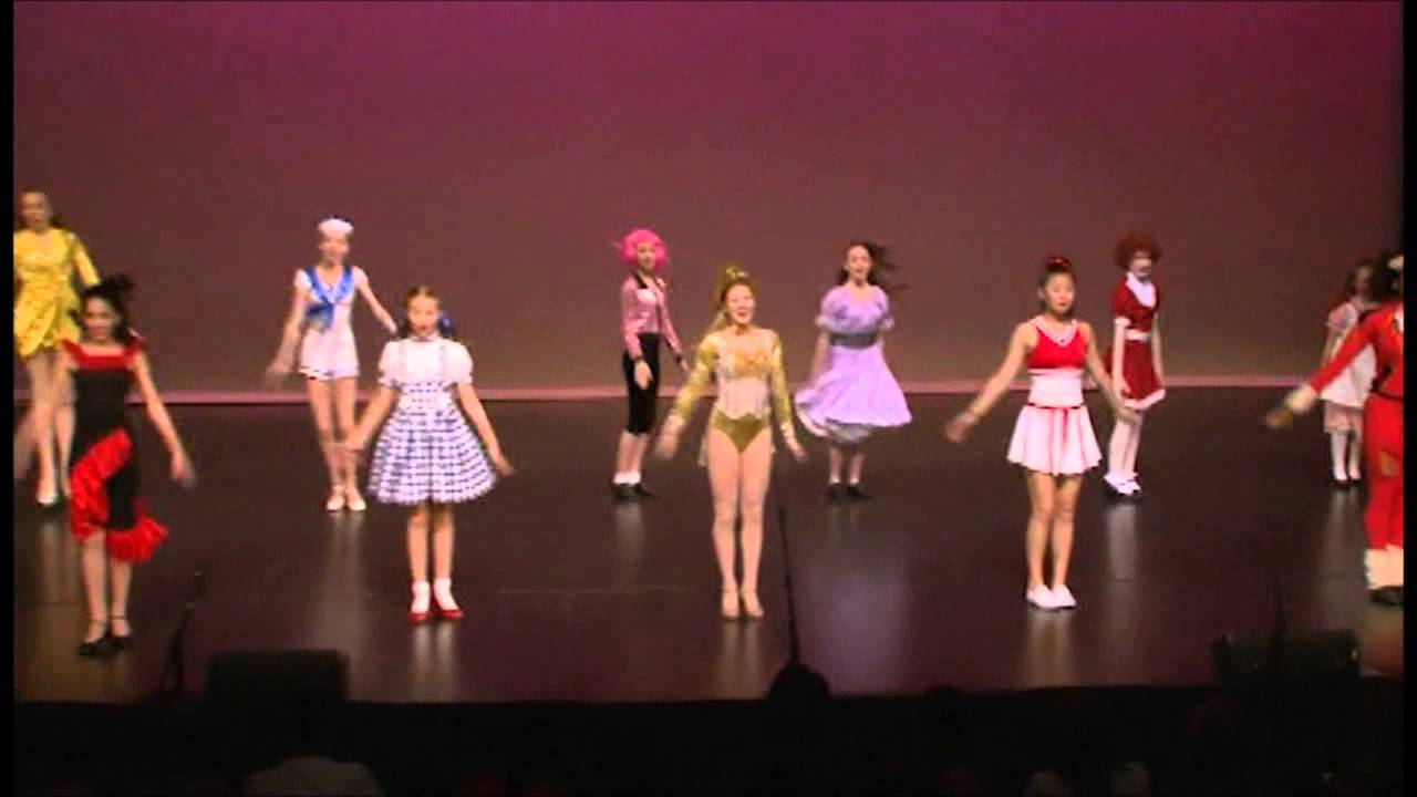 Caulfield School Of Dance Musical Theatre Show People Youtube