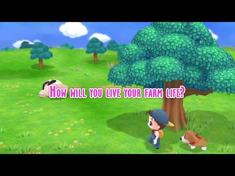 Story of Seasons: Friends of Mineral Town - Launch Date Announcement Trailer