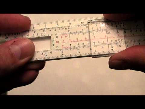 The joy of slide rules
