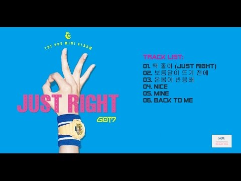 [FULL ALBUM] GOT7 - Just Right [3rd Mini Album]