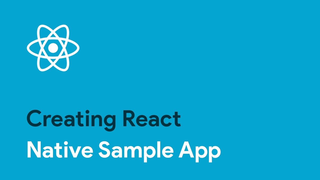 React-Native: Creating React Native Sample App