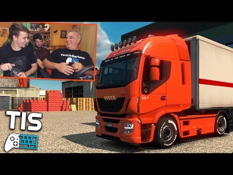 Εδώ Λέμε Αλήθειες! - Euro Truck Simulator 2 |#20| TechItSerious