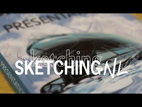 New Sketching, Product Design Presentation Book