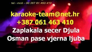 Sevdalinka Zaplakala secer Djula demo karaoke kao Rizo Hamidovic