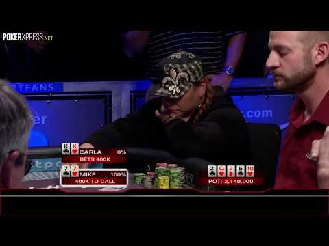 When you hit the PERFECT flop against pocket KINGS!