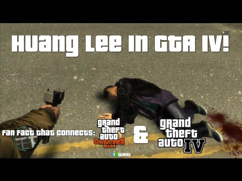 Huang Lee in GTA IV | Exotic Export Mission | GTA CW & GTA IV Connection