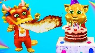 Мой говорящий Кот #10 ТОМ ДРАКОН Мой виртуальный питомец ИГРА МУЛЬТИК ДЛЯ ДЕТЕЙ