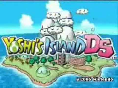 Yoshi island ds title theme high quality youtube yoshi island ds title theme high quality sciox Image collections