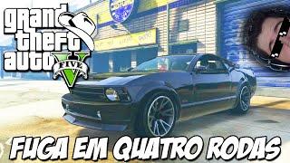 GTA 5 Online (PS4) - Nova Mini Série O FUGITIVO: Perseguição em quatro rodas