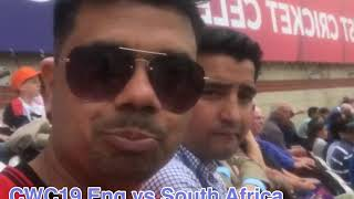 CWC19 England vs South Africa Oval London