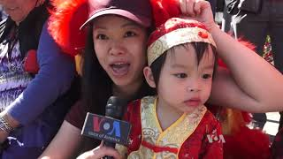 Lunar New Year Tradition Continues in U.S. With Annual Parade