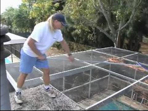 Cleaning A Pool Screen Enclosure Tips For Balancing On
