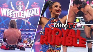 MiroTV EDGE e BIANCA BELAIR vincono le ROYAL RUMBLE 2021 DREW sconfigge GOLDBERG