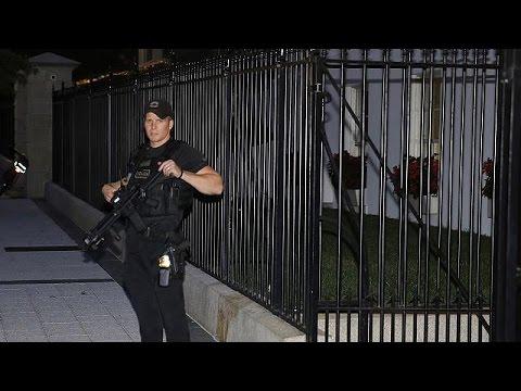 White House alert as man breaches security