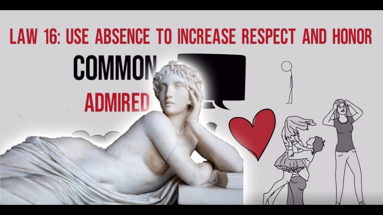 Download Use Absence to increase distinction - Law 16 of the Famous Book 48 Laws of Power