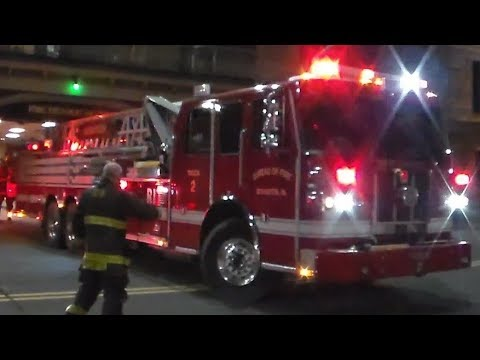 Scranton Fire Department Truck 2, Engine 4 & Engine 10 Responding