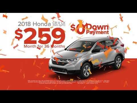2018 Honda CR-V December 2018