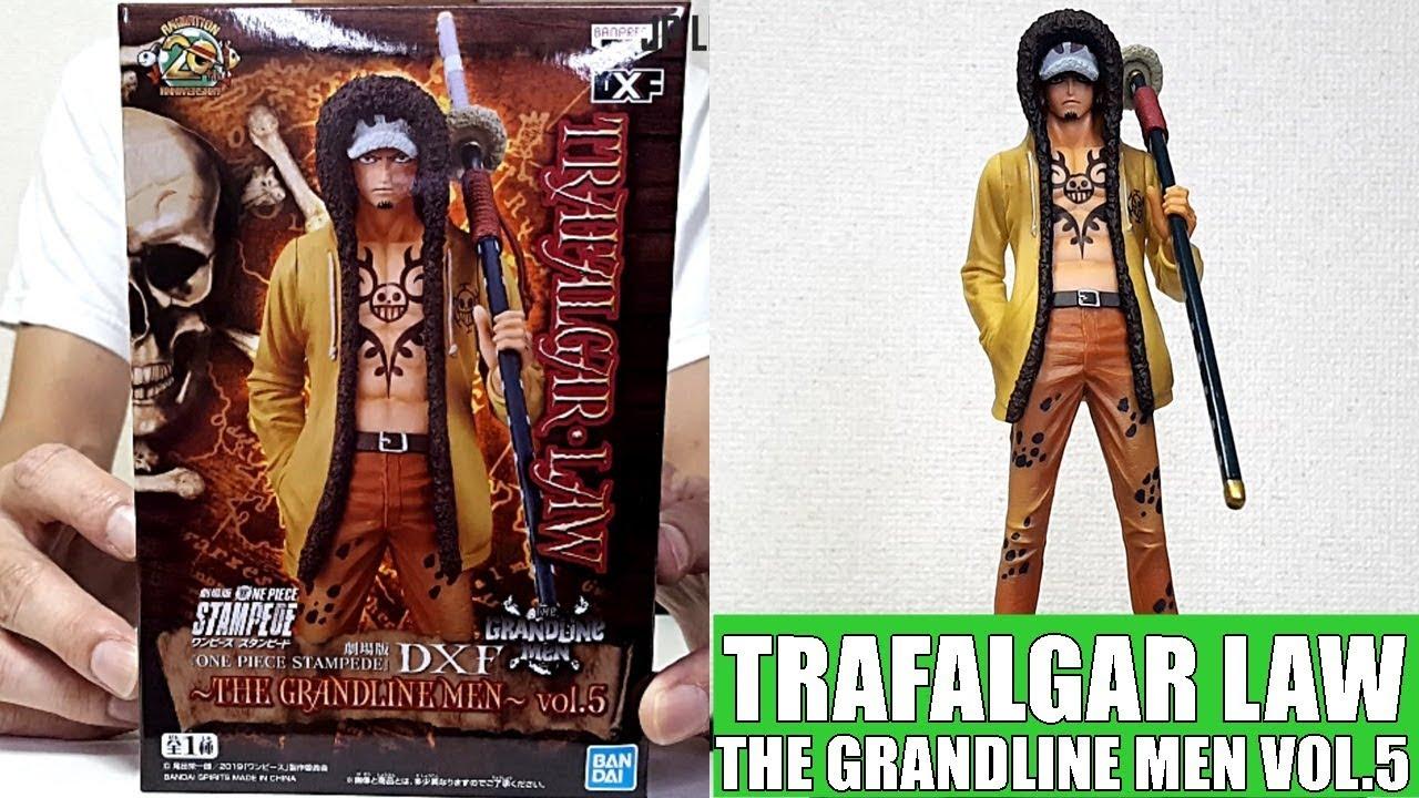 Banpresto One Piece Trafalgar Law Resin Statue New Toy
