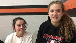 Vandercook Lake's Kate Leach and Kaely Howard talk school records, regional finals