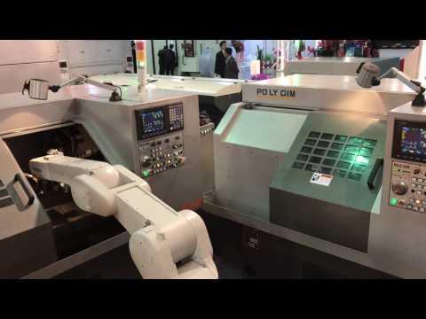 Timtos 2017 Exhibition Taipei -Polygim Robot Automation