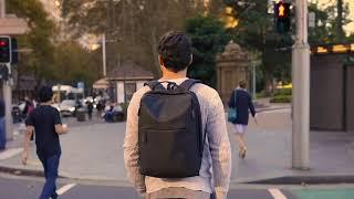 Safedome Fingerprint Lock Backpack - Stylish & Savvy Tech Travel bag