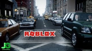 Roblox GTA V - You Can't Even Steal A Car?