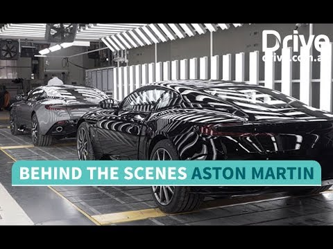 Behind the scenes at Aston Martin   Drive.com.au - Dauer: 4 Minuten, 13 Sekunden