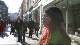 Rebecca Nelson sings Ave Maria, Grafton St. Dublin